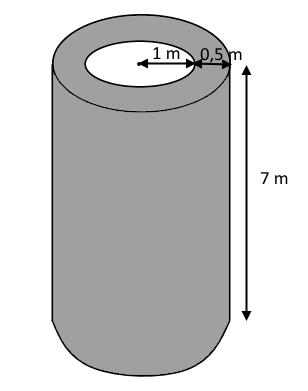 rumfang af cylinder i liter