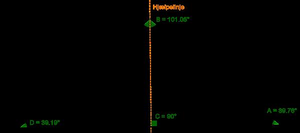 rumfanget af en trekant
