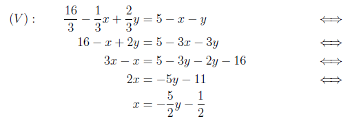 ligninger med x på begge sider