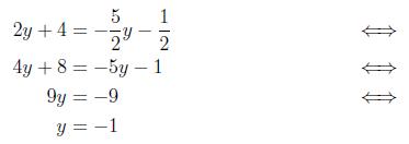 hvordan regner man ligninger