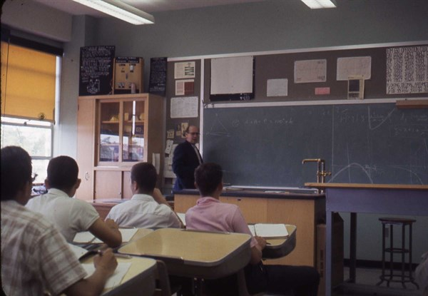 Bronx Science Programming Classroom 1960