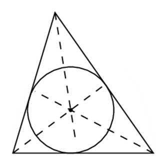 median i trekant