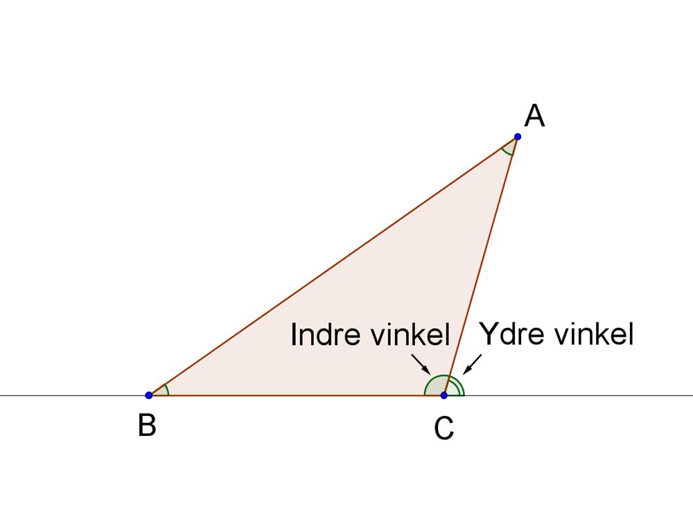 vinkelberegning trekant